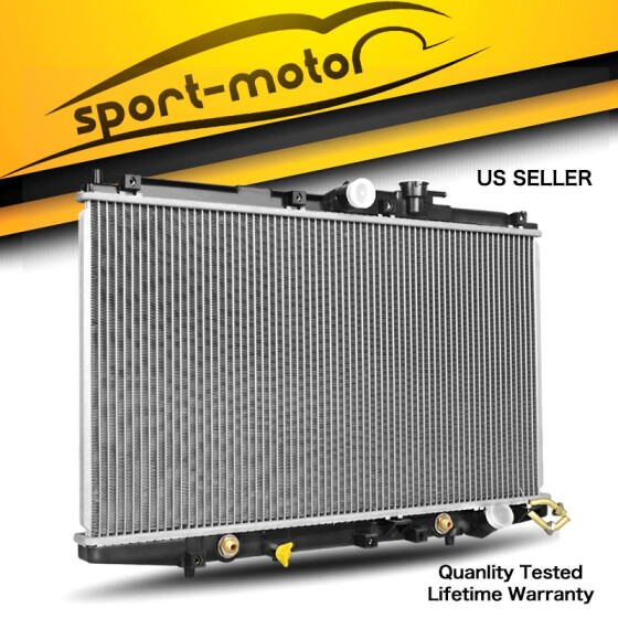 New 2 ROW Aluminum Radiator for Honda Accord 2.3L 1998-2002 MT 1999 2000 2001