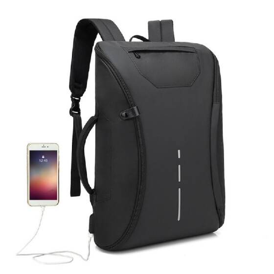 Large Capacity Computer Pack With Lots Of Usb Backpacks Laptop Travel Backpack