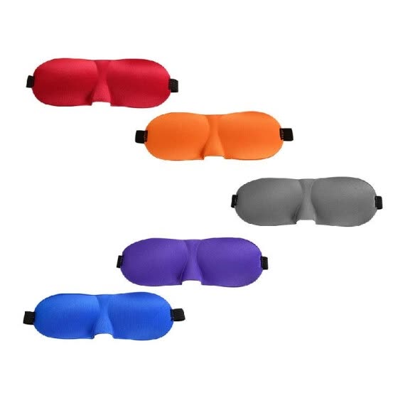 3D Eyeshade Sleep Mask Sleeping Eye Mask Cover Natural Eye Shadow Patch Soft Blindfold Travel Rest Portable Eyepatch