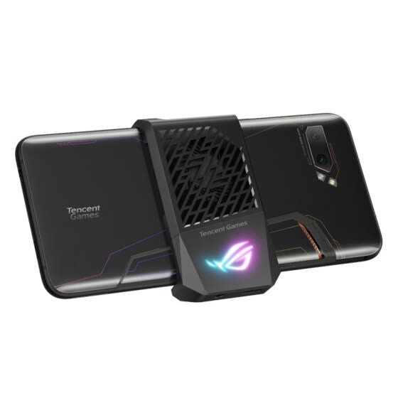 ROG game mobile phone 2 cool cooling fan 2 rapid cooling horizontal screen game interface expansion Shenguang synchronization finger cooling operation cooling f