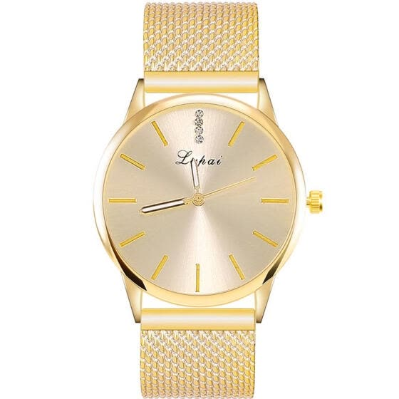 2018 Women Fashion Watch Mesh Band Analog Quartz Watch Ladies Luxury Dress Watches For Women Jewelry Gift