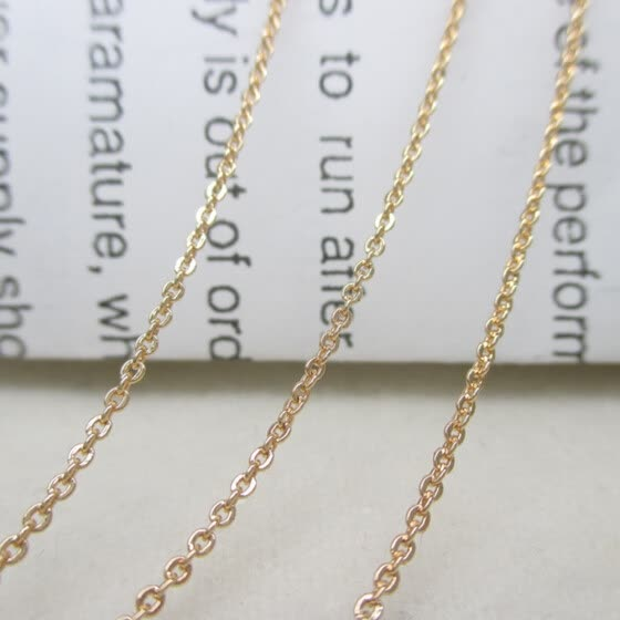 1m Fashion Women Men Necklace Chains For DIY Jewelry Accessories Making