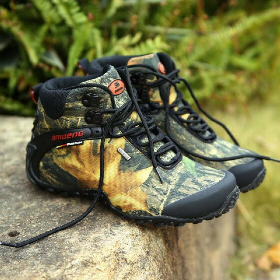 Men/'s Hiking Shoes High Top Trekking Climbing Boots Outdoor Athletic Sneakers