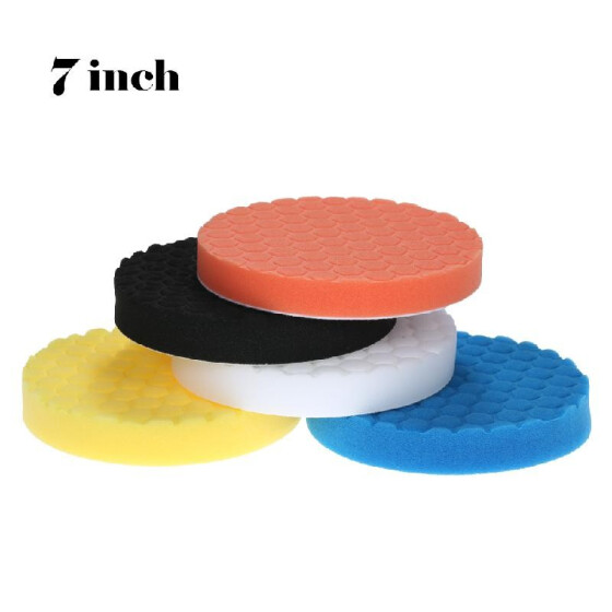 125mm Buff Pad Polishing Pad kit For Car Polisher Pack of 5Pcs-Professional Quality Pack Of 5Pcs Celan Quality 5 inch