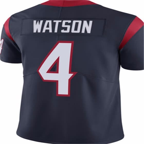 on sale b8c85 81565 Shop Houston Texan 4 Deshaun Watson 99 J.J. Watt Jersey Mens ...