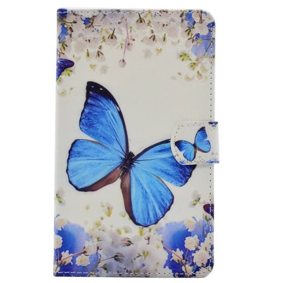 BannerLive TPU Case for Samsung Galaxy Tab A P580 10.1 Cover GalaxyP580 Funda Coque Flower Bear Wolf Tree Deer Fox Butterfly