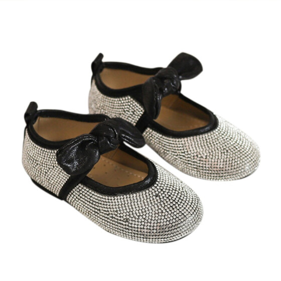 Guige Baby Children Leather Shoes Girl Shoes Princess Dance Shoes Kids Toddler Loafers
