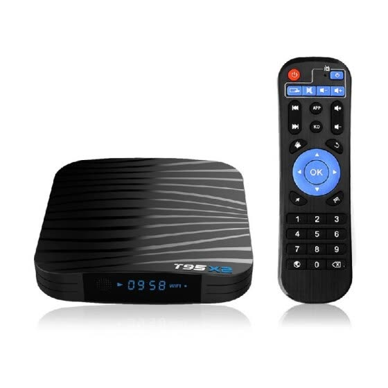T95X2 Android 8.1 TV Box Amlogic S905X2 Quad Core 4GB DDR4 / 32GB Smart UHD 4K Set Top Box VP9 H.265 2.4G WiFi 100M LAN HD Media P