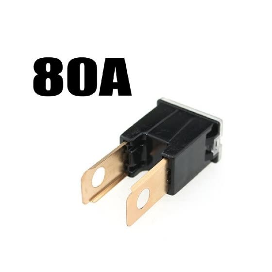 80A JCASE FMX Pal Male Slow Blow Car Auto Fuse for Nissan Mazda H-o-n-d-a T-o-y-o-t-a