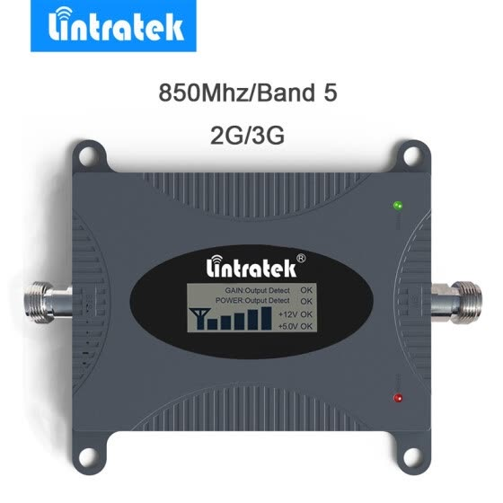 Lintratek Powerful AWS 1700/2100MHz Signal Boosters Band 4 Cell Phone Signal Booster 4G LTE 1700MHz Mobile Signal Amplifier*2.0