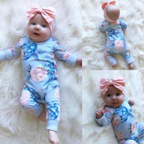 Briefs Playsuit Outfit Set Jumpsuit UK Infant Newborn Baby Girl Romper Clothes