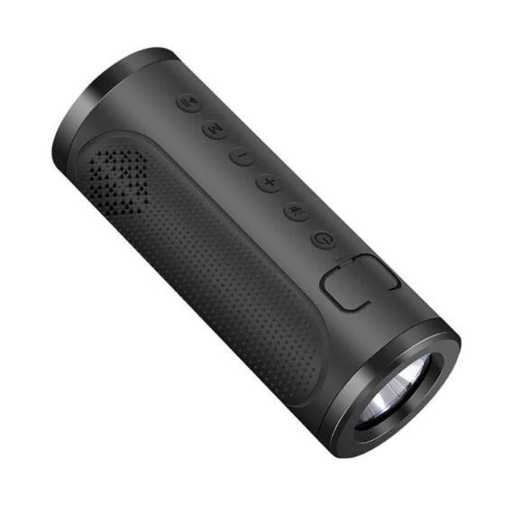 Multi-Function Outdoor Sport Bluetooth Speaker Flashlight Power Bank Speaker Handsfree With Mic For Bike Bicycle