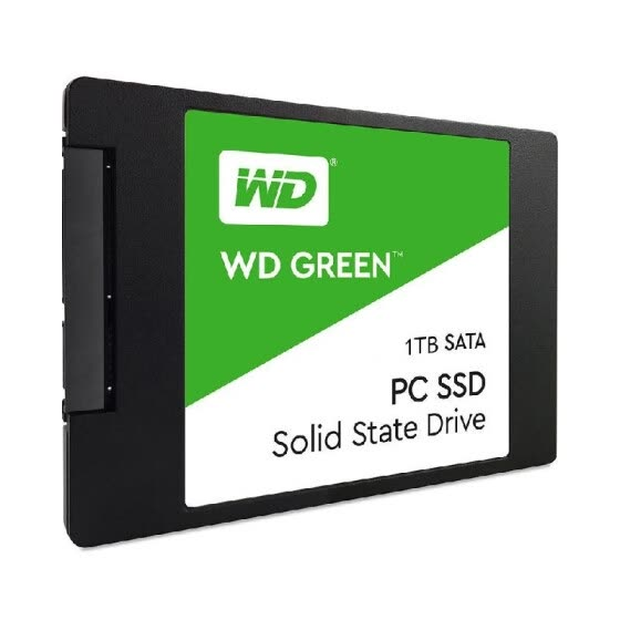 WD Green 1TB PC SSD SATA 6GB/s 2.5in Solid State Drive (WDS100T2G0A)