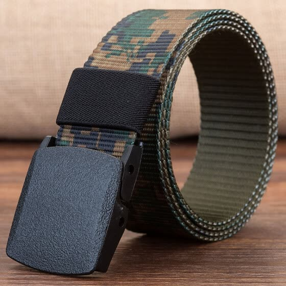 Trend Unisex belt long big size new Nylon material mens belt military outdoor male jeans tactical belts for men and Women luxury