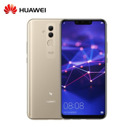6.3 inch HUAWEI Mate 20 Lite Maimang 7 6GB 64GB Mobile Phone Kirin 710 Octa Core Android 8.1 2340 x 1080 9V/2A Quick Charge