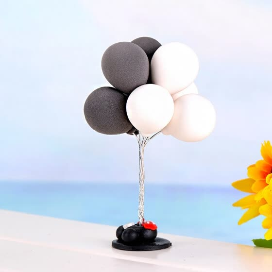 Tailored 1:12 /1:6 Dollhouse Miniature Scene Model Balloons Pretend Play Toy