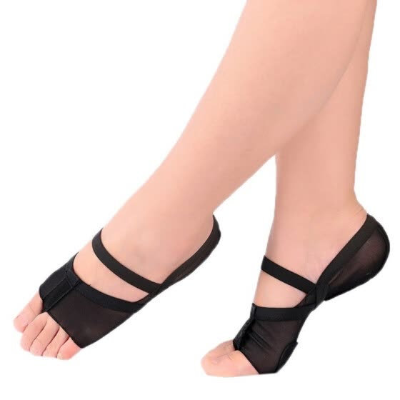 1 pair Ballet Dance Toe Pad Practice Shoe Foot Thong Care Tool Half Sole Gym Sock Dance shoes