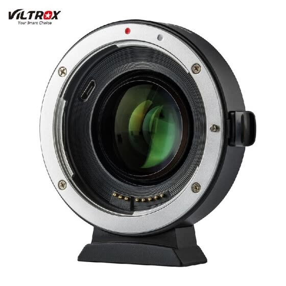 Viltrox EF-EOS M2 Auto Focus Lens Mount Adapter Ring 0.71X Focal Lenth Multiplier USB Upgrade for Canon EF Series Lens to EOS EF-M