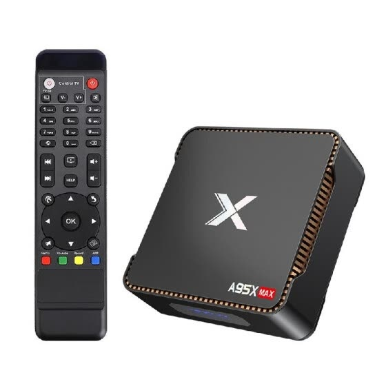 A95X MAX Smart Android 8.1 TV Box Amlogic S905X2 4GB / 64GB UHD 4K Set Top Box VP9 H.265 2.4G / 5G WiFi 1000M LAN BT4.2 HD Media P