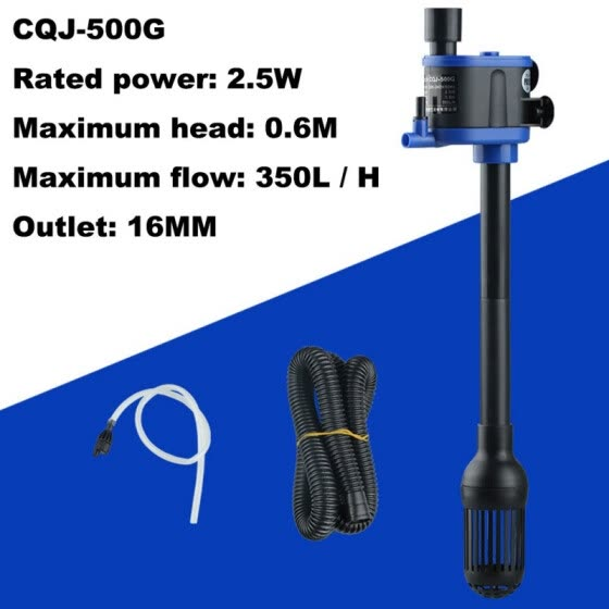 Shop Three In One Aquarium Submersible Pump Fish Tank Water Pump Filter Pump Miniature Water Pumps Aeration Fish Tank Supplies Online From Best Adapters On Jd Com Global Site Joybuy Com