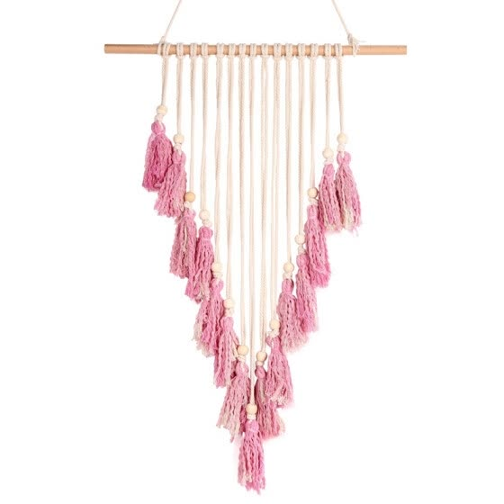 Tapestry fashion Bohemian Colored Tapestry Tassel Woven Wall Decoration Bed Background Soft Home Accessories for home