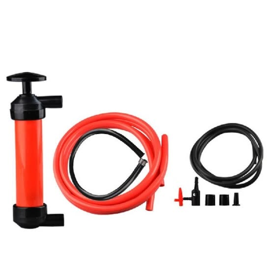 Portable Manual Oil Pump Siphon Tube Car Hose Fuel Gas Extractor Transfer Sucker Inflatable Pump Tool Automobile Emergency Supplie