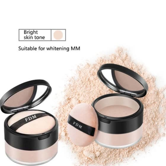 Makeup Setting Powder Long-lasting Waterproof Oil-control Even Skin Color Concealer Loose Powdre