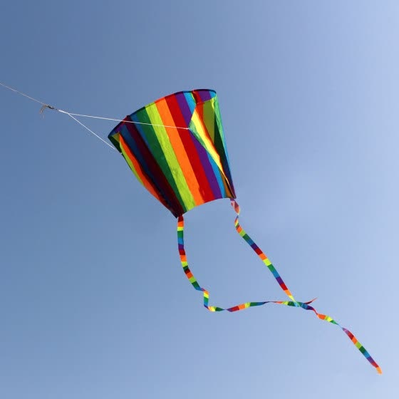 Children's Colorful Mini Pocket Kite Outdoor Fun Sports Software Kite Flying