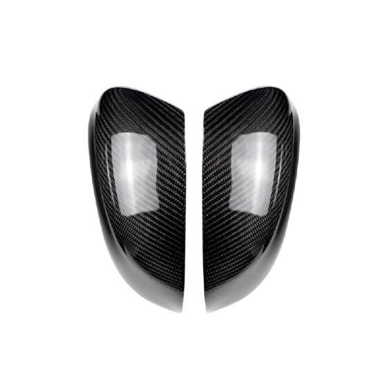 Carbon Fiber Car Wing Mirror Cover Rearview Mirror Caps Replacement Fit For BMW X3 F25 X4 F26 X5 F15 X6 F16 2015-2017