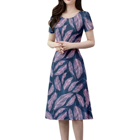 Korean Shirt Vestidos Vintage Autumn Dresses Women Dresss Pring Midi Floral short Sleeve Dress Female