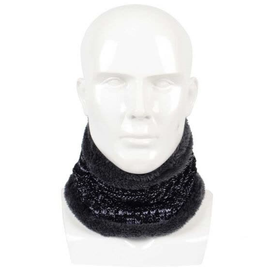 New Circle Winter Scarf Unisex scarf Rings Elastic Kitted Fleece Inside Men Women scarves Soft Thick Warm Scarves Ring