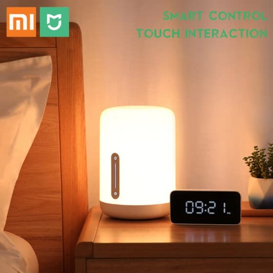 LED Night Light Touch Control Bedside Lamp Smart