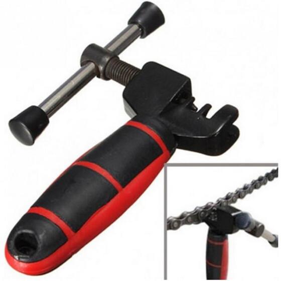 Bike Chain Repair Tool Splitter Rivet Extractor Break Pin Remove Bicycle BB