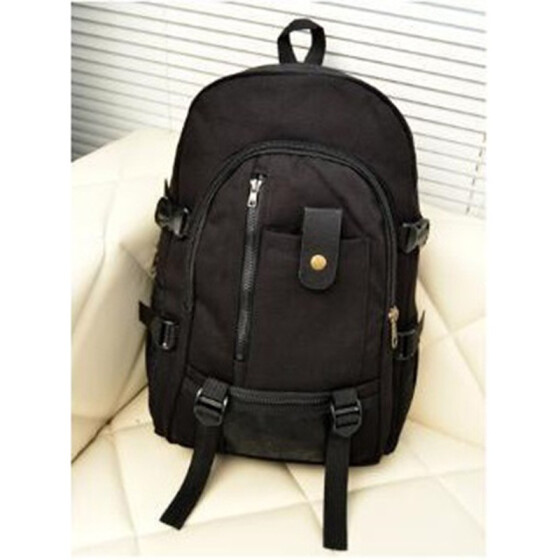 New Men Canvas multifunctional Satchel Backpack Hiking School Travel Camping Bag