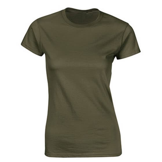 Women Casual O-Neck Short Sleeve Solid Summer Spring  Blouse Tops T-shirt