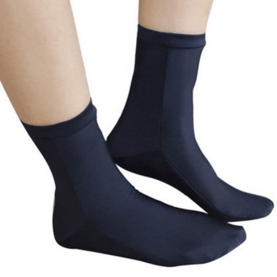 1 Pair Diving Socks Adult Elastic Thermal Shoes Footwear Outdoor Beach Sports Autumn Winter Swimming Snorkeling Socks