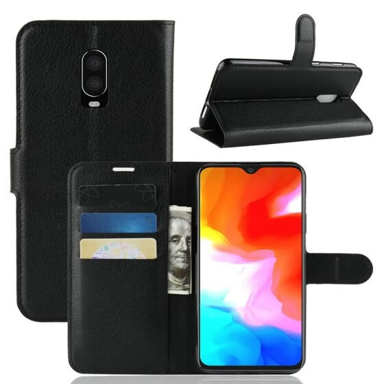 for OnePlus 6T A6013 WIERSS Wallet Phone Case for OnePlus 6T A6013 for OnePlus 6 A6003 Flip Leather Cover Case Etui Fundas>