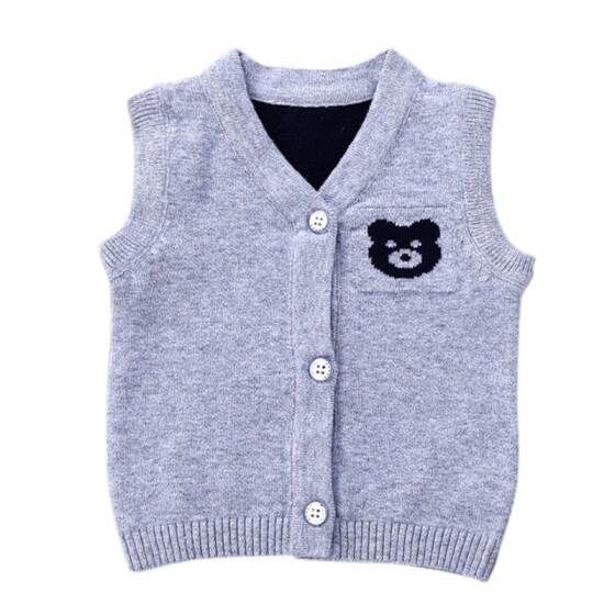Newborn Infant Baby Boys Sweater 100/%Cotton Animal Outerwear