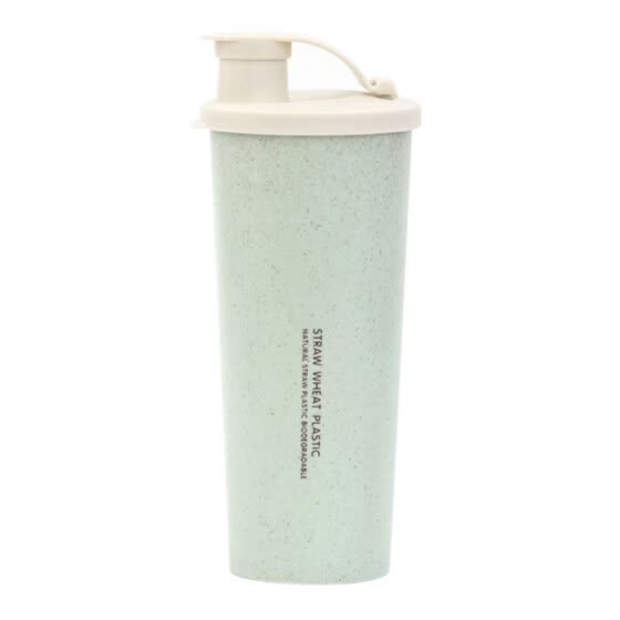 450 ml whey protein shake bottle water bottle wheat straw without BPA sports Shaker milkshake protein bottle