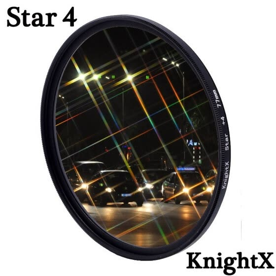 KnightX Multi-Coated Ultra-Thin Star Effect Filter For Canon DSRL Camera 1200d d5300 light 60d 50d d5100 dslr 200d