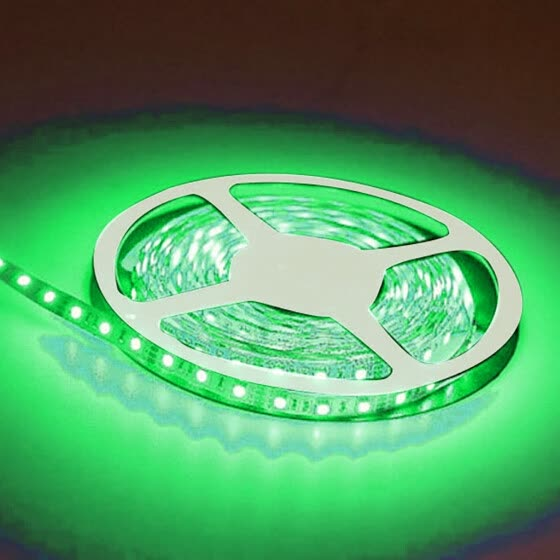 〖Follure〗5M 3528 Waterproof LED Flexible Light Strip 12V with 300 SMD LED Green