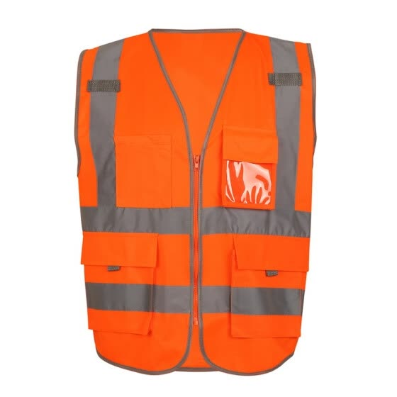 High Quality Reflective Vest Men Women High Visibility Sports Outdoor Reflective Safety Clothing Working Clothes Running Vest