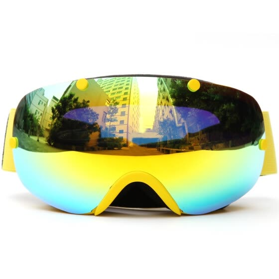464142b8bc5 Sports Goggles Riding Glasses Winter Ski Goggles UV400 Protection Dual Lens  Snowboard Goggles Spherical Snow Skating