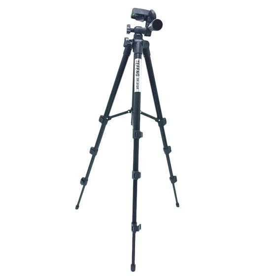 Professional Aluminium Alloy Tripod Monopod Digital SLR Camera Stand DSLR Camera Holder for Canon Nikon Tablet Clip
