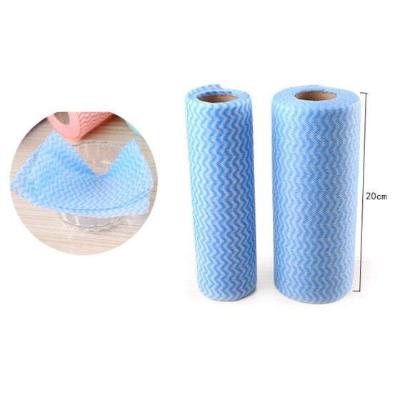 Non-woven Disposable Dish Towel Washing Cleaning Cloth Kitchen Cleaning Tool