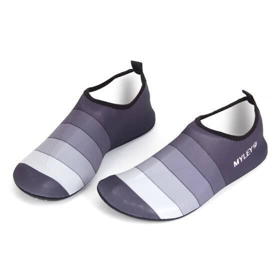 Lover NEW Skin Shoes Water Shoes Aqua Socks Exercise Pool Beach Swim Slip On Surf Aqua Water Skin Solid Rubber Workout Gym Water