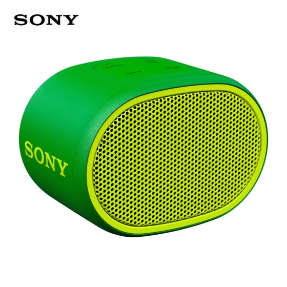 Sony (Sony) SRS-XB01 Wireless Bluetooth Portable Audio IPX5 Waterproof Subwoofer (Green)