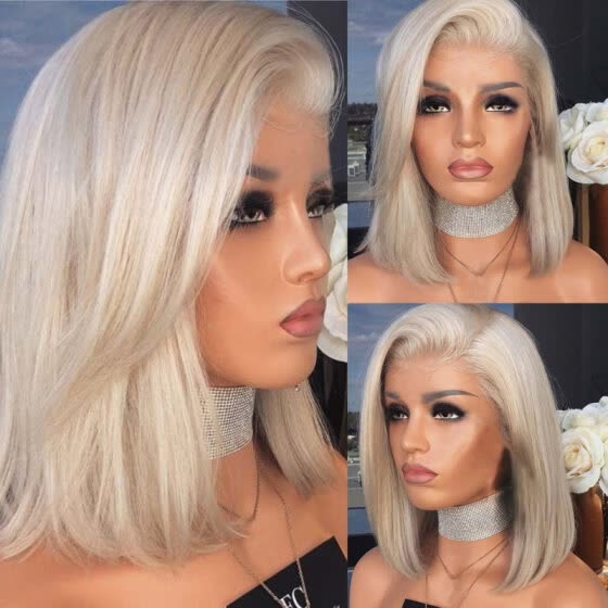 Shop Fashion Women Side Parting Shoulder Length Straight Synthetic Hair Cosplay Wig Online From Best Exfoliating Tools On Jd Com Global Site Joybuy Com