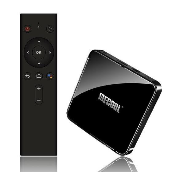 MECOOL KM3 RARE Smart Android 9.0 TV Box UHD 4K Media Player Amlogic S905X2 4GB / 128GB Voice Remote Control Google Certificated 2