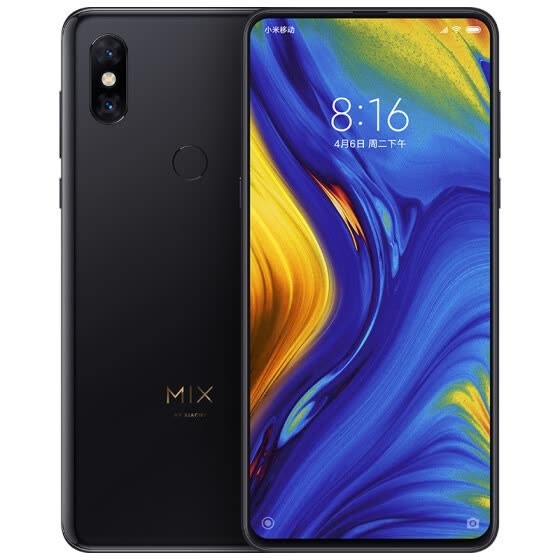 Xiaomi Mi MIX 3 Snapdragon 845 Octa Core Mobile Phone 3200mAh 6.39'' Full Screen 2 Back &2 Front Cameras